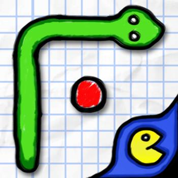 Doodle-Snake-Achtung-H-chste-Suchtgefahr-