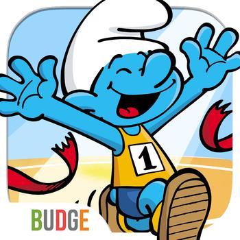 Os-jogos-Smurf-Competi-o-Desportiva