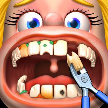 Wenig-Zahnarzt-Kinder-Spiele